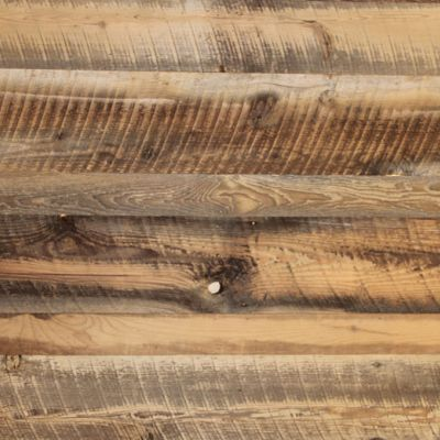 Brown Barn Wood Skip Sanded Wall Cladding