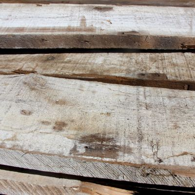 Barnwood Antique Boards Whitewashed