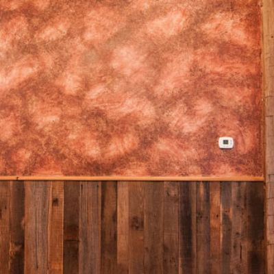 Meagan-Norton-faux-painting0120.jpg-Master Oak-wainscott log abstract