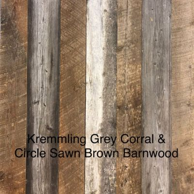 Kremmling Brown/Grey Corral Wall Cladding
